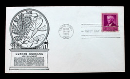 US Stamp Sc#  876 FDC U/A Luther Burbank C. Stephen Anderson Cachet 1940 - $17.99
