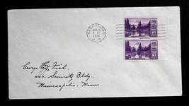 US Stamp Sc# 758 FDC Mount Rainier Vertical Pair Special Printing 1935 - $29.99