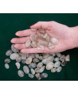 Rutilated Quartz Cabochon Gem Mix Over 50 carats - $9.99