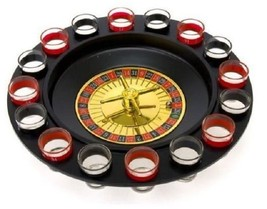 Shot Glass Roulette Drinking Game Drink Dorm Party Room Adult Games For ... - $25.95