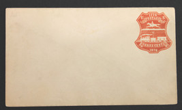 US Stamp Sc #U218 Mint 3¢ Red on White Unused Entire  - $39.99