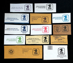 US Stamp Government Envelope Cut Square Collection Lot of 13 - $19.99
