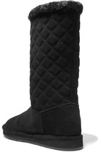 Michael Kors Sandy Quited  Winter Snow Suede Women  Boots NEW Size US 6 ... - $98.99+