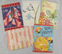Colorful Variety Pack of All Occassion Greeting Cards - 5 Pack with Enve... - $5.50
