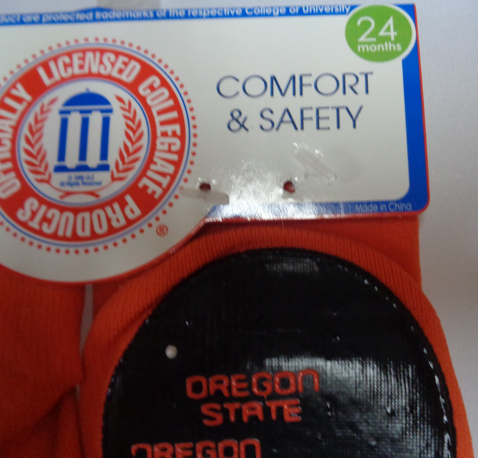 Skidders Toddlers No Skid Oregon State Socks NWT Sz 24 Months