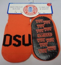 Skidders Toddlers No Skid Oregon State Socks NWT Sz 12 Months - $7.99