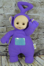 "1998 Talking Teletubies Tinky Winky Purple Plush 18"" Hasbro - $21.77"