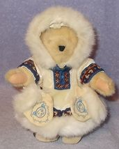 Muffy Vanderbear of the North Stuffed Bear with Mits and Tag 1990 - $9.95