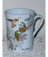Otagiri Rufous Hummingbird Coffee Cup Tea Mug Humming Bird and Babies Gi... - $19.99