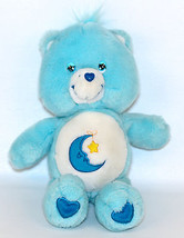 "Care Bears Bedtime 13"" Plush Stuffed Animal Blue Crescent Moon Play Alon... - $12.95"