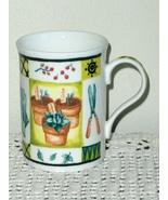 Crown Trent Coffee Cup Tea Mug Gardener Gardening Tools Cup England - $10.00