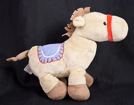 "Carters Just One Year Horse 9"" Plush Tan Brown ... - $10.95"