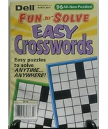 Dell Fun to Solve Easy Crosswords March 2017 96... - $9.45