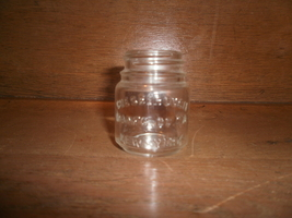 Old Chesserbrough Manufactoring Co .  Glass Jar , New York - $1.00