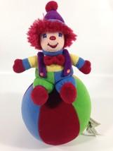 Gymboree Musical Gymbo Clown Plush Doll Colorful Circus Jingle Ball Baby... - $59.00