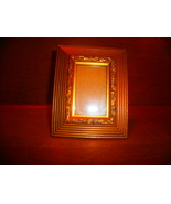 Gold Ornated Wood Picture Frame - $5.00