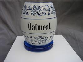 Vintage Germany Blue & White Ceramic Wild Flowe... - $175.00