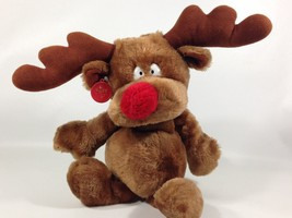 Russ RADAR Plush Reindeer Holiday Christmas Brown Stuffed Animal No.686 ... - $28.99