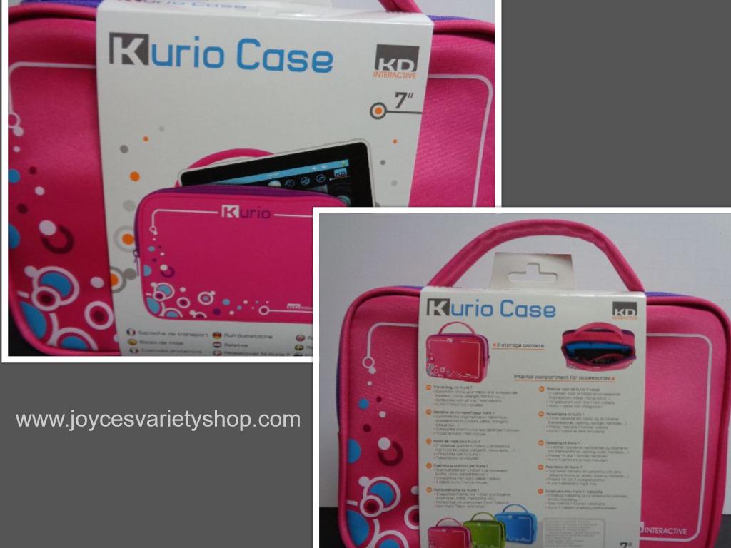 Kurio case pink collage