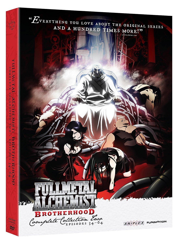 FMA Fullmetal Alchemist: Brotherhood Complete Series DVD Full Collection 1 & 2 - DVD, HD DVD ...