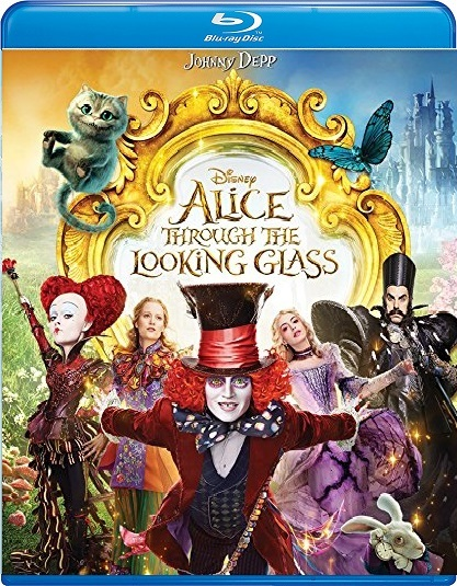 Disney's Alice Through the Looking Glass (Blu-ray + DVD]