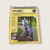 Babies R Us Jogging Stroller Rain Clear Cover Storage Pocket Ventilation... - $14.01