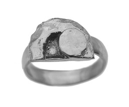 Empty Tomb of Jesus Resurrection Rise Again Sterling silver Jewelry Ring... - $26.73
