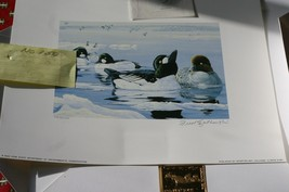 1995 N.Y. Duck Stamp & Print >Medallion edition 1895 Centennial by F.Sza... - $67.32