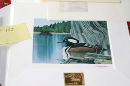 1997 New York Duck Stamp & Print > by R. Easton >Medal Edition>... - $77.22