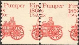 1908, MNH 20¢ Fire Pumper Misperforation ERROR Pair of Stamps - Stuart Katz - $10.00