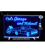 Personalized LED Man Cave Sign- Garage Sigh, Bar sign, Truck, Beer Can - $94.05+