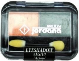 JORDANA EYE SHADOW #ES/10 MELON/TEAL by Jordana - $6.02