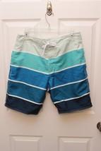"Men's Gap Board short swim trunks Blue Size S  9"" inseam The Original Boardshort - $14.85"