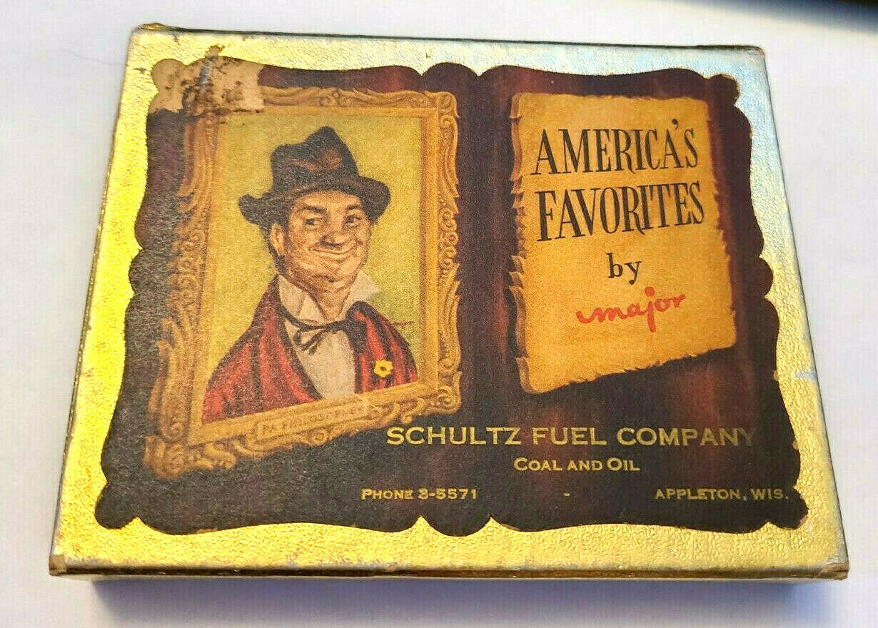 America's Favorites by Major Double Deck Playing Cards   Schultz Fuel Company