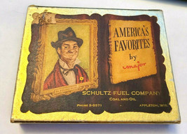 America's Favorites by Major Double Deck Playing Cards   Schultz Fuel Company image 1