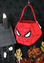 POTTERY BARN KIDS SPIDERMAN TREAT BAG – NWT - WHAT A HALLOWEEN WEB WE WE... - $39.95