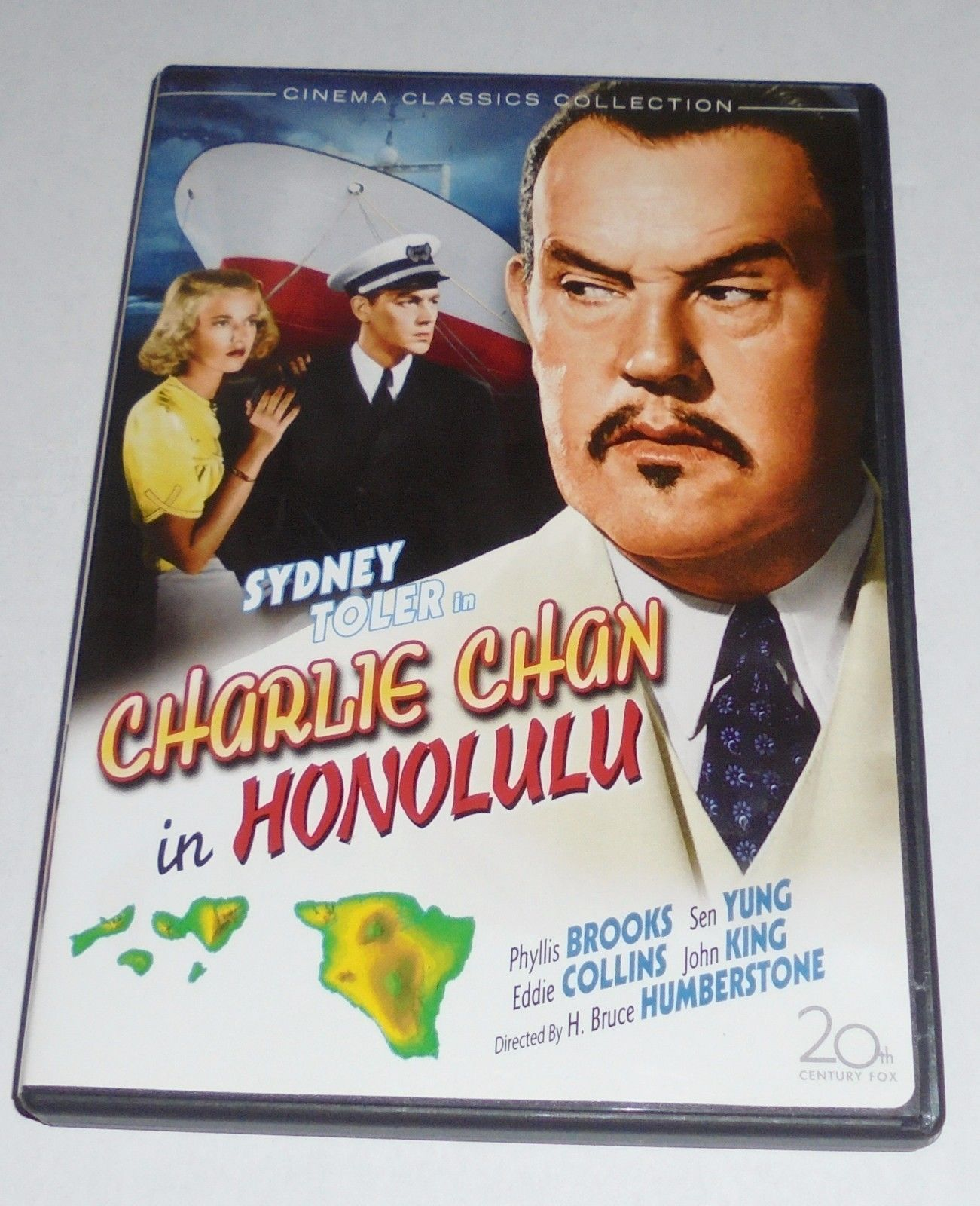 Charlie Chan In Honolulu DVD Sydney Toler 1930s Classic Movie