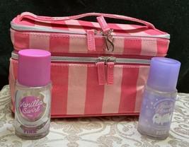 Victoria's Secret~Beach Flower Chilled~Vanilla Swirl~Travel Make Up Mirr... - $23.36