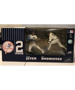 Derek Jeter, Alex Rodriguez Figurine 2-Pack  By McFarlane Toys New In Box - $42.08