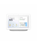 """Google Nest Home Hub 7"""" WSVGA Touchscreen with Google Assistant - Chalk - $159.95"""