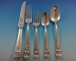 Pendant of Fruit by Lunt Sterling Silver Flatware Set For 12 Service 65 Pieces - $3,145.50