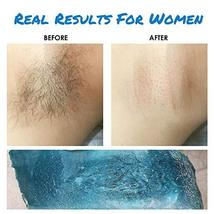 ILansley Wax Kit for Women Men Coarse Body Hair with Strongest Blue Refill Hard  image 3