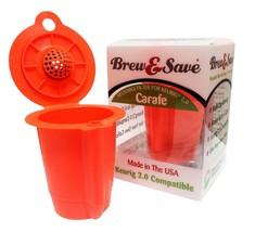 Reusable K-Carafe Filter For Multi Cup Coffee Brewing KEURIG 2.0 Carafe ... - $6.99