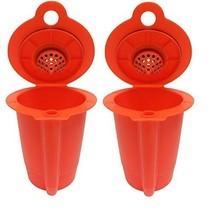 2 Reusable K-Carafe Filter For Multi Cup Coffee Brewing KEURIG 2.0 Caraf... - $9.89