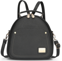 Mixed Color Leather Women Backpacks Medium Girl's Backpacks L311-5 - $39.99