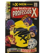 the X-MEN #42 FEATURING: THE DEATH OF PROFESSOR X by STAN LEE - $39.95