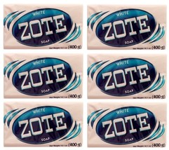 6 Pack ZOTE White Laundry Clothes Hand Delicate Wash Soap For Stains 14o... - $16.99