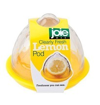 Joie Clearly Fresh AIRTIGHT Lemon Keeper Storage Container Pod Store Halves - $10.99