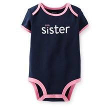 "Carter's ""Little Sister"" Baby Girls' Bodysuit, 9 Months, 111A501N - $9.75"