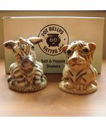 Harmony Ball Zebra & Tiger Pot Belly Salt & Peppers - $8.50